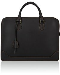 Boldrini Selleria - Slim Leather Briefcase - Lyst