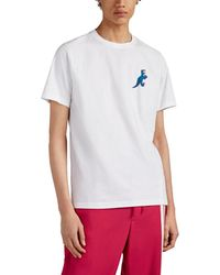 08f965f28 PS by Paul Smith - Dinosaur-print Organic Cotton T-shirt - Lyst