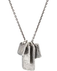 M. Cohen - The Tag Necklace - Lyst