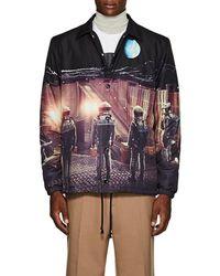 Undercover - Astronaut-print Tech-satin Coach's Jacket - Lyst