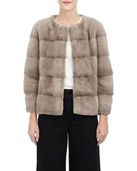 Lilly E Violetta - Two-tone Mink Sarah Chubby - Lyst