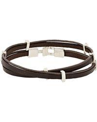 Zadeh - Eitan Wrap Bracelet - Lyst