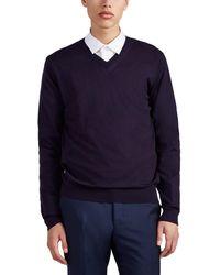 Lanvin - Cashmere V-neck Sweater - Lyst