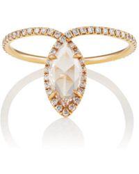 Monique Péan - White Diamond Ring - Lyst