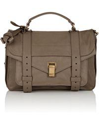 75b08729f3 Proenza Schouler - Ps1 Medium Leather Shoulder Bag - Lyst