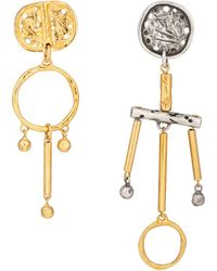 Givenchy - Mobile Mismatched Earrings - Lyst