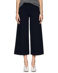 Nomia - Cotton-blend Crop Wide-leg Pants - Lyst