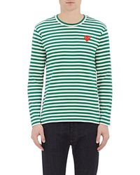 Play Comme des Garçons - Striped Long-sleeve T - Lyst