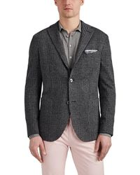 Boglioli - k Jacket Houndstooth Wool-cotton Two-button Sportcoat - Lyst