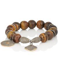 Carole Shashona - Earth Essence Lotus Bracelet - Lyst