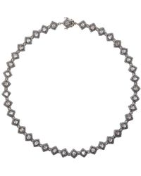 Munnu - Single Line Necklace - Lyst