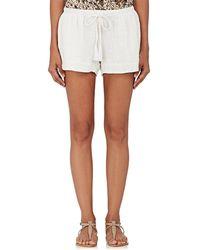Natalie Martin - Tash Cotton Gauze Shorts - Lyst