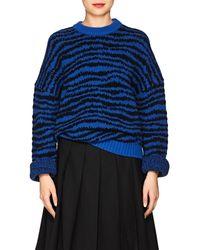 Marc Jacobs - Zebra-striped Wool - Lyst