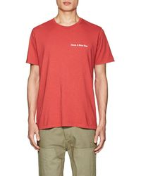 Rag & Bone - have A Nice Day Cotton T - Lyst