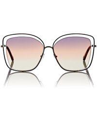 Chloé - Poppy Butterfly Sunglasses - 259 - Lyst