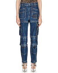 Balenciaga - Convertible Cargo Jeans - Lyst