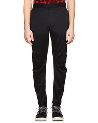 Lanvin - Relaxed Biker Cotton Trousers - Lyst