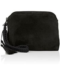 The Row - Multi-pouch Suede Wristlet - Lyst
