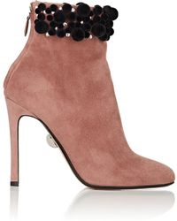 Samuele Failli - Satine Suede Ankle Boots - Lyst