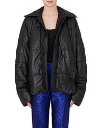 Haider Ackermann - Quilted Leather Puffer Coat - Lyst