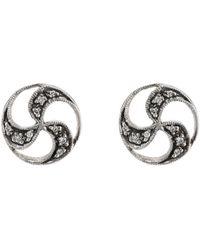 Cathy Waterman - japanese Ball Stud Earrings - Lyst