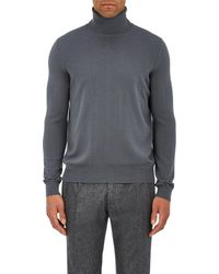 Boglioli - Brushed Wool Turtleneck Jumper - Lyst