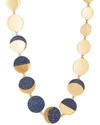 Pamela Love - Moon Phase Collar Necklace - Lyst