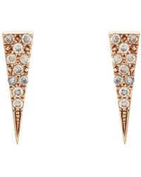 Eva Fehren | Fringe Stud Earrings | Lyst