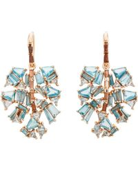 Nak Armstrong - Monstera Palm Leaf Earrings - Lyst