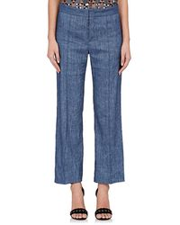 Étoile Isabel Marant - Oxy Linen-blend Flared Trousers - Lyst