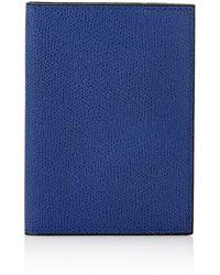 Valextra - Passport Case - Lyst
