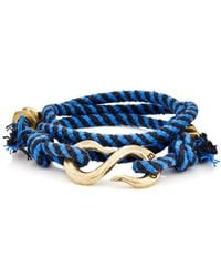 Giles & Brother - Rope Wrap Bracelet With S - Lyst