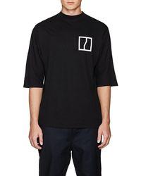 Chapter - Graphic Linen-cotton T-shirt - Lyst