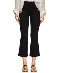 Earnest Sewn - Melody Crop Flared Jeans - Lyst