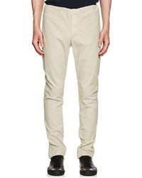 James Perse - Washed Cotton Slim Drawstring Pants - Lyst