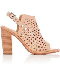 Rag & Bone - Perforated Wyatt Slingback Sandals - Lyst
