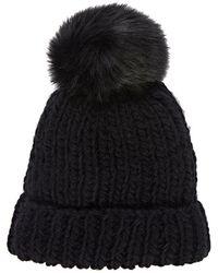 Barneys New York - Pom-pom-embellished Hat - Lyst