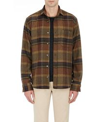 Inis Meáin - Brushed Flannel Shirt - Lyst