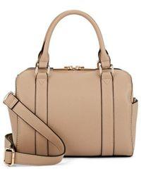 Barneys New York - Faux-leather Mini Duffel Bag - Lyst