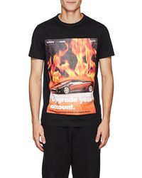 Blood Brother - Flames Cotton T-shirt - Lyst