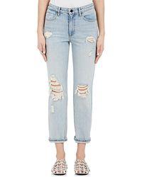 Alexander Wang - Cult Straight Crop Jeans - Lyst