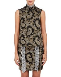Jourden - Paisley Chenille Sleeveless Blouse - Lyst