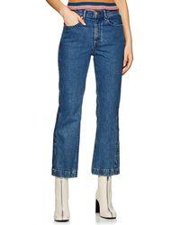 Rag & Bone - Dylan Wide-leg Jeans - Lyst