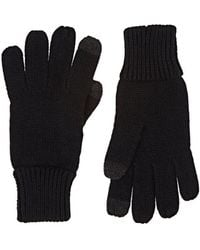 Barneys New York - Tech-smart Stockinette-stitched Gloves - Lyst