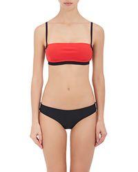 Alexander Wang - Bonded Bandeau Bikini Top - Lyst