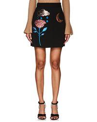 Cynthia Rowley - Metallic-appliqué Miniskirt - Lyst