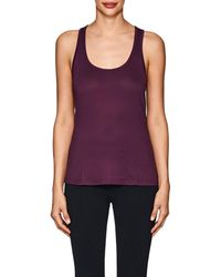 CORY VINES APPAREL - Path Striped Athletic Mesh Tank - Lyst