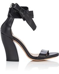 Repetto - Leather Ankle-tie Sandals - Lyst