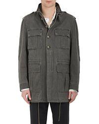 Maison Margiela - Washed Cotton Gabardine Field Jacket - Lyst