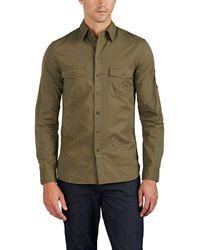Zadig & Voltaire - Sigmund Cotton Twill Military Shirt - Lyst